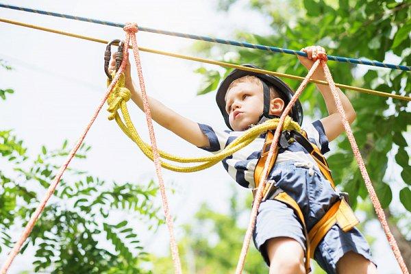 Aktivita Lanové centrum Lanáček pro děti Zlín