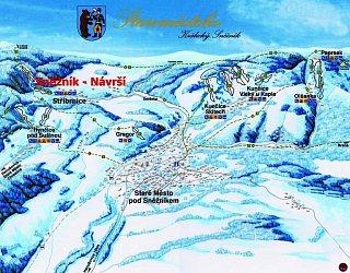Ski Stříbrnice - Návrší