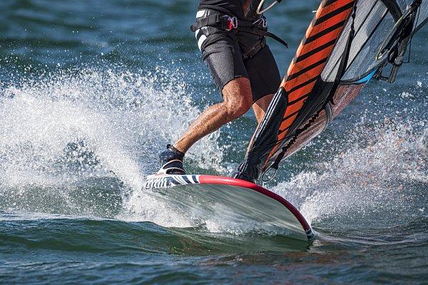 Aktivita Windsurfing Štěpánský rybník