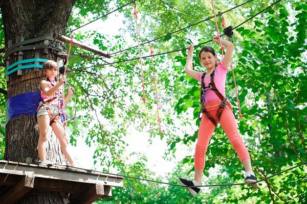 Aktivita Adrenalin Park Jeseníky