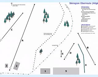 Ski Hochsträßlifts – Oberreute