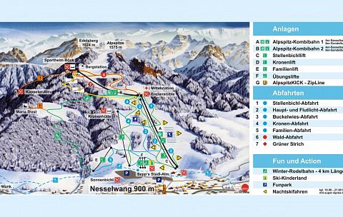 Nesselwang – Alpspitze (Alpspitzbahn)